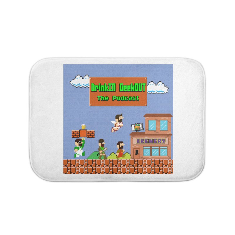 Super DiGo Bros. Home Bath Mat by DrinkIN GeekOUT's Artist Shop
