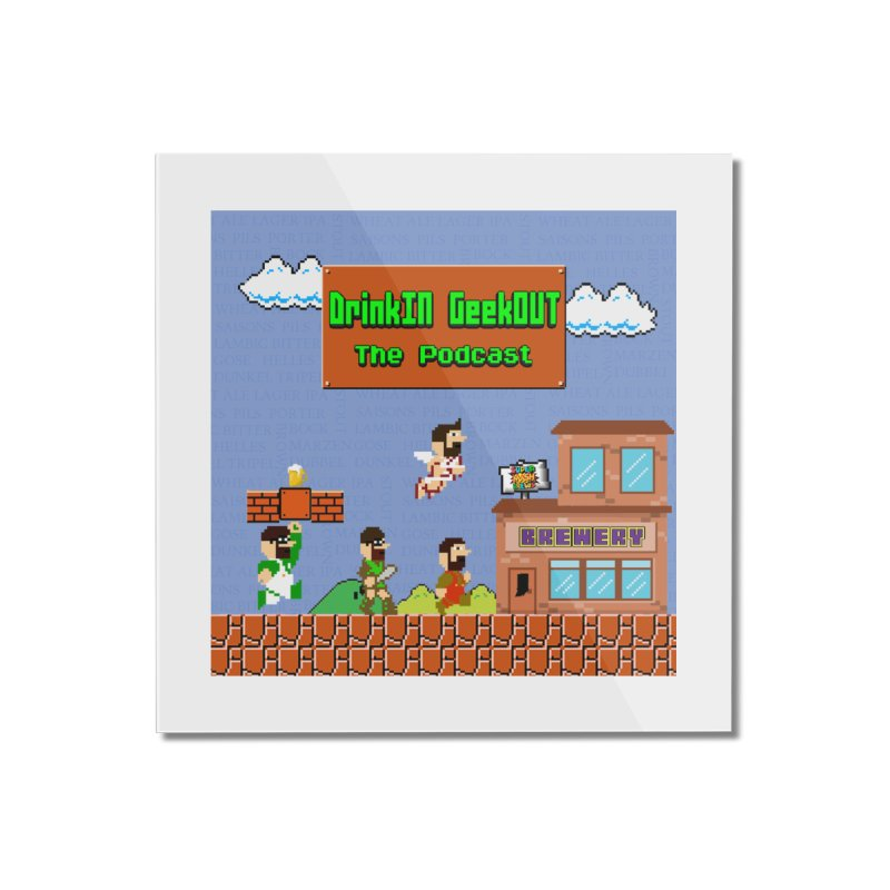 Super DiGo Bros. Home Mounted Acrylic Print by DrinkIN GeekOUT's Artist Shop