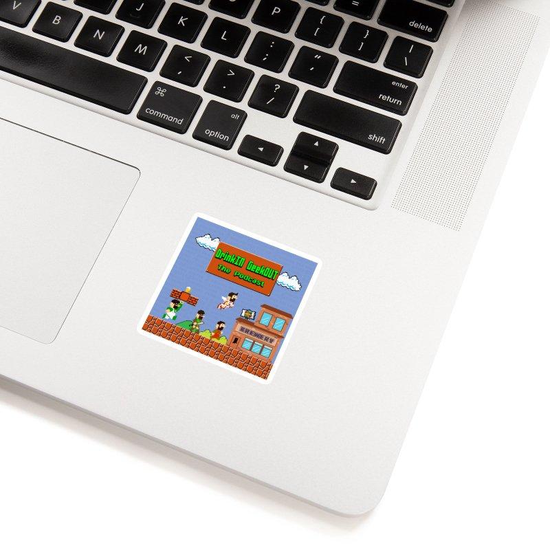 Super DiGo Bros. Accessories Sticker by DrinkIN GeekOUT's Artist Shop