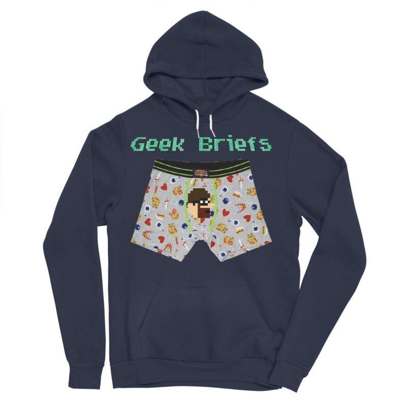 Geek Briefs Women's Sponge Fleece Pullover Hoody by DrinkIN GeekOUT's Artist Shop
