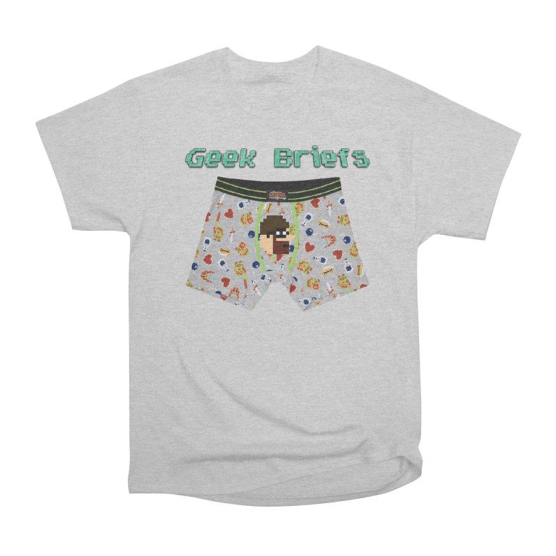 Geek Briefs Men's Heavyweight T-Shirt by DrinkIN GeekOUT's Artist Shop