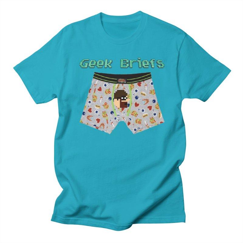 Geek Briefs Women's Regular Unisex T-Shirt by DrinkIN GeekOUT's Artist Shop