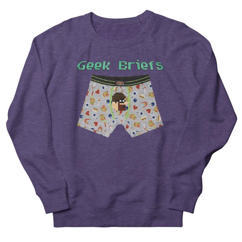 Geek Briefs Women's French Terry Sweatshirt by DrinkIN GeekOUT's Artist Shop