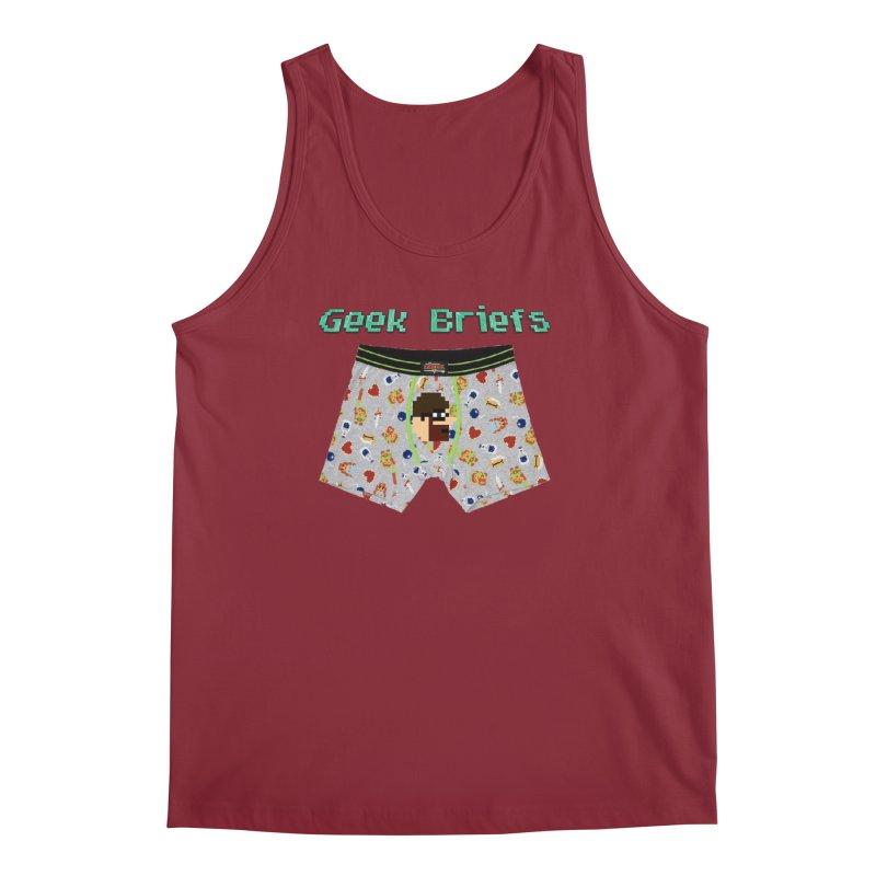 Geek Briefs Men's Regular Tank by DrinkIN GeekOUT's Artist Shop
