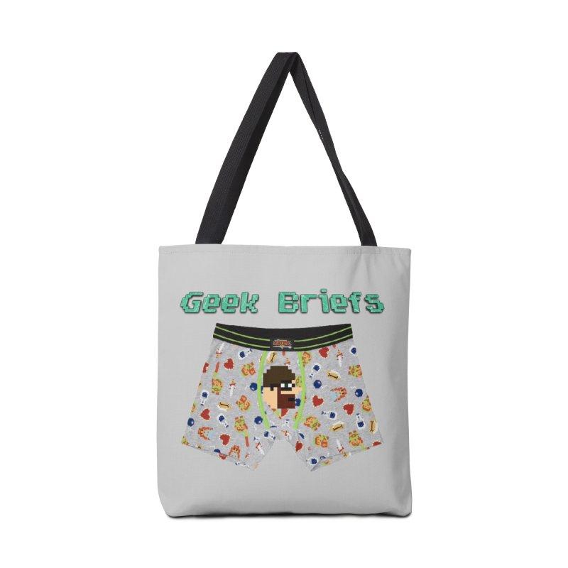 Geek Briefs Accessories Bag by DrinkIN GeekOUT's Artist Shop