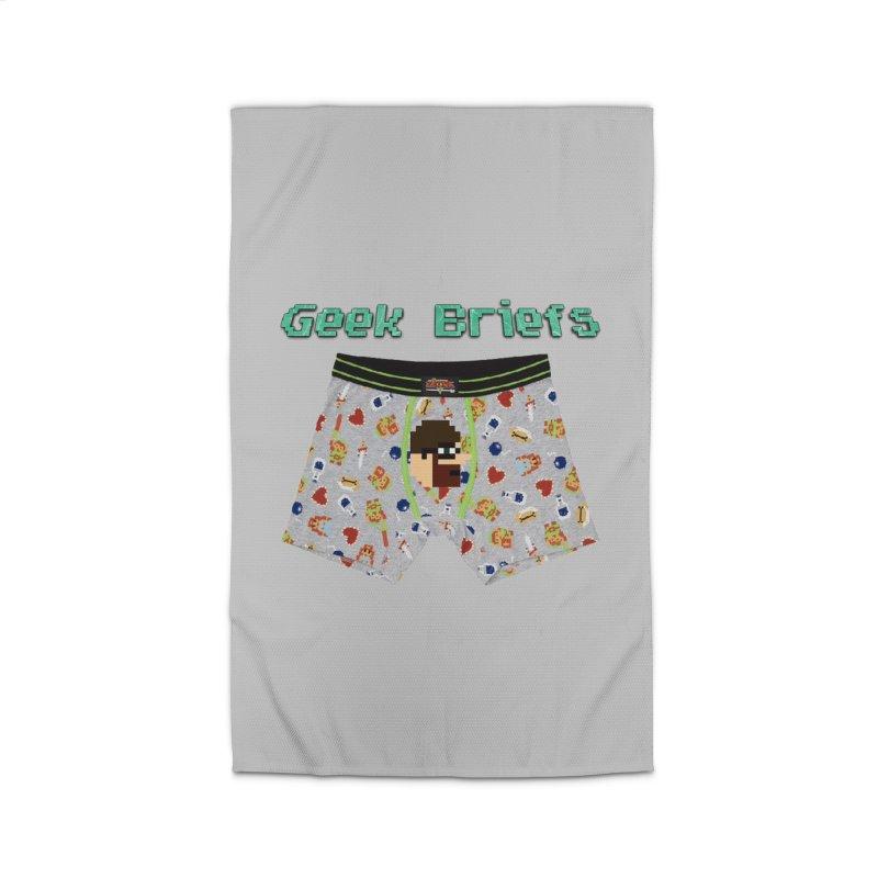 Geek Briefs Home Rug by DrinkIN GeekOUT's Artist Shop