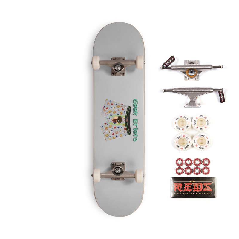 Geek Briefs Accessories Complete - Pro Skateboard by DrinkIN GeekOUT's Artist Shop
