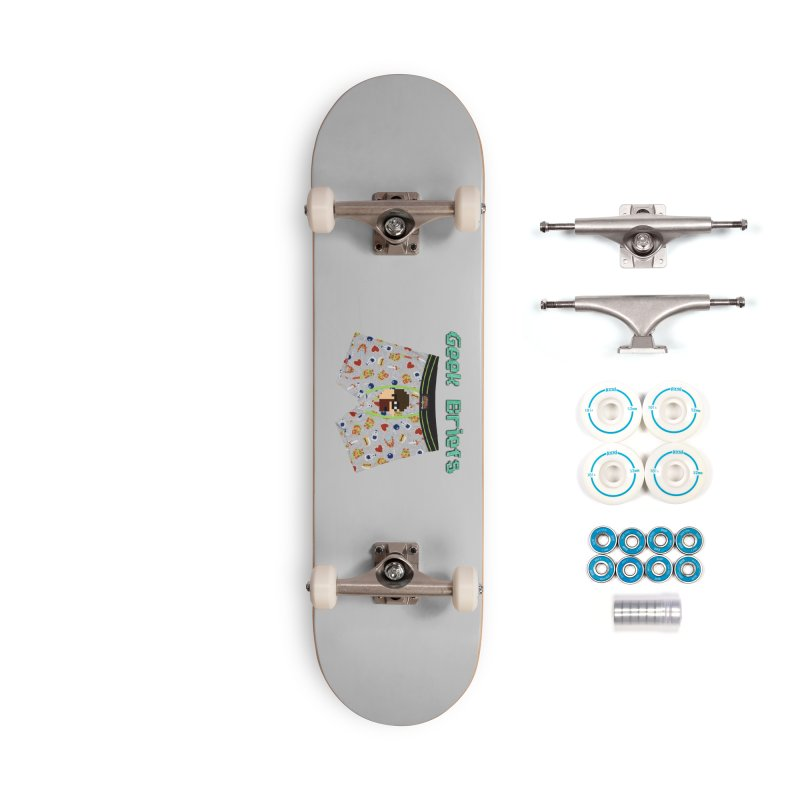 Geek Briefs Accessories Complete - Basic Skateboard by DrinkIN GeekOUT's Artist Shop