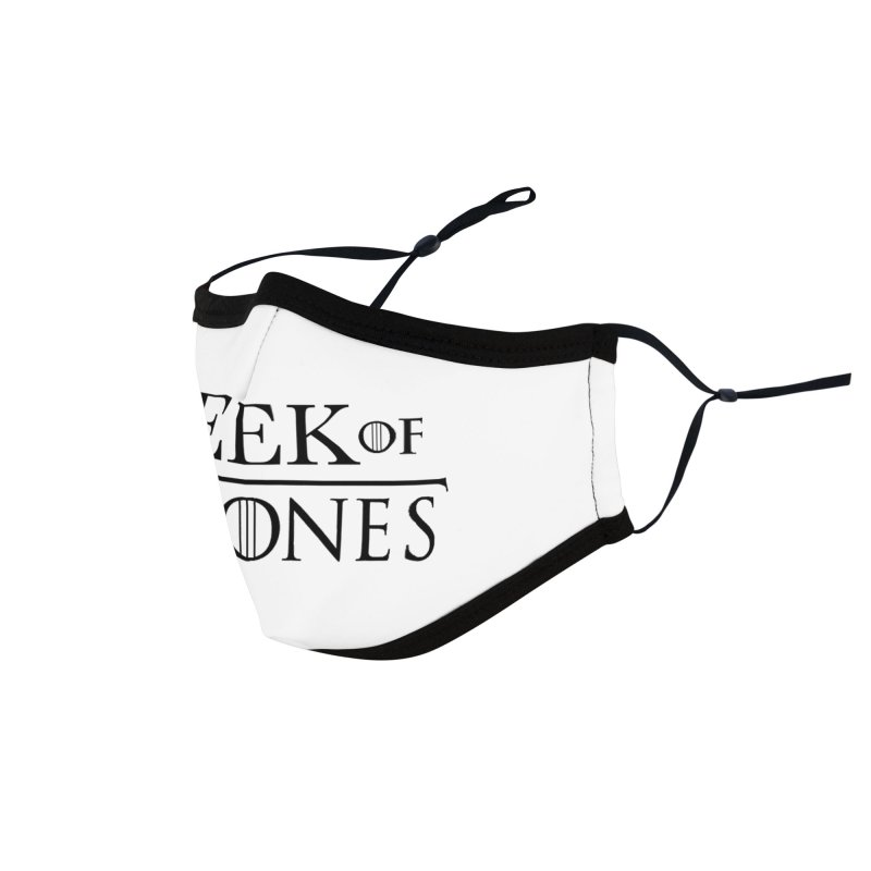 Geek of Thrones Accessories Face Mask by DrinkIN GeekOUT's Artist Shop