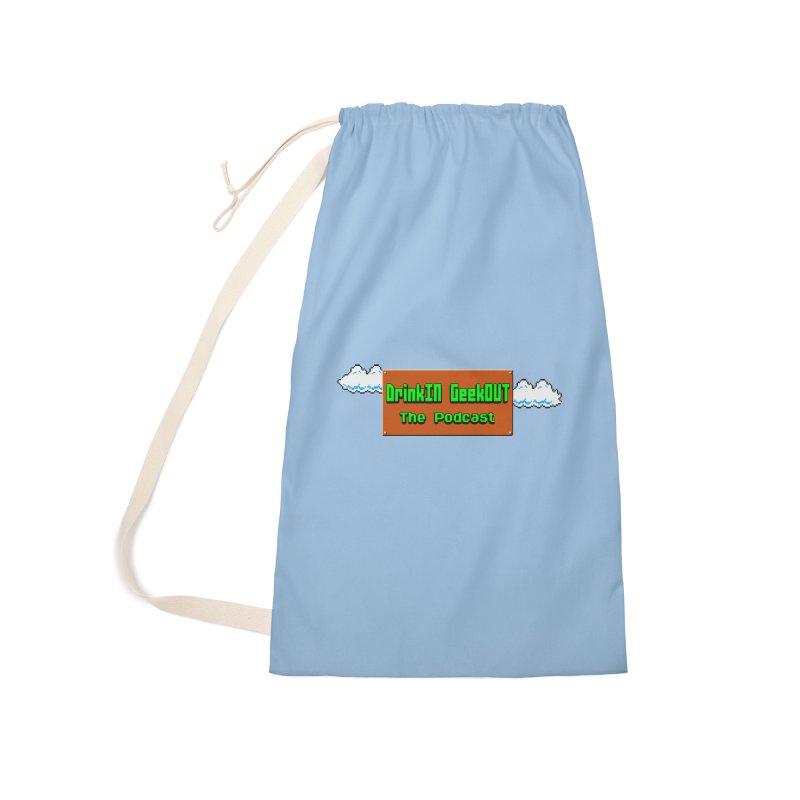 DiGo Clouds Accessories Bag by DrinkIN GeekOUT's Artist Shop