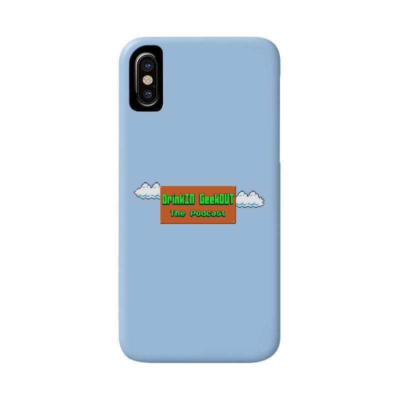 DiGo Clouds Accessories Phone Case by DrinkIN GeekOUT's Artist Shop