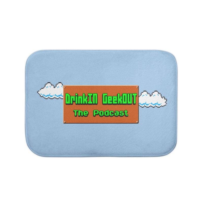 DiGo Clouds Home Bath Mat by DrinkIN GeekOUT's Artist Shop