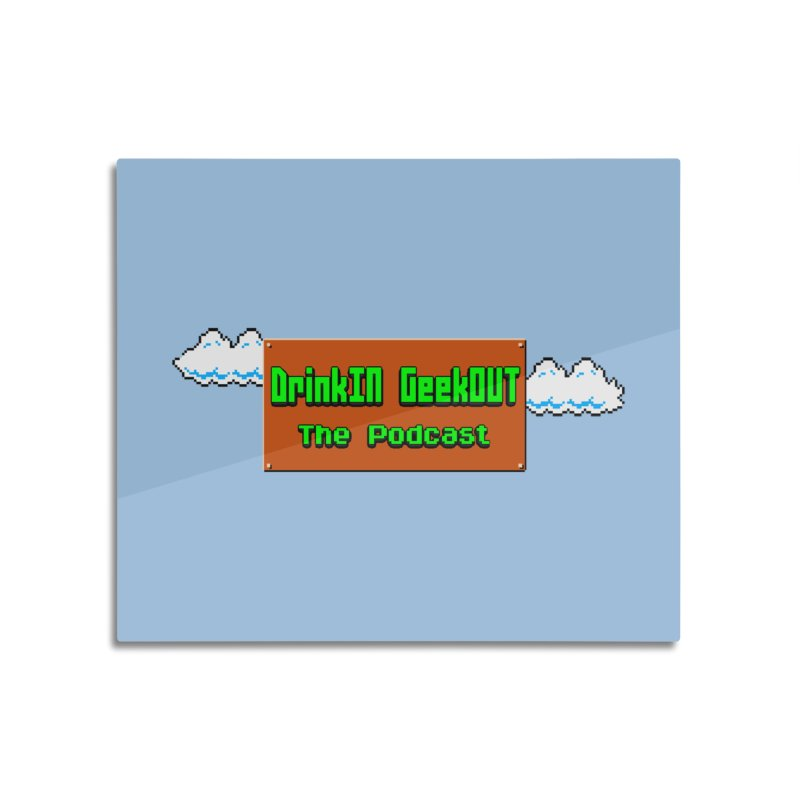 DiGo Clouds Home Mounted Acrylic Print by DrinkIN GeekOUT's Artist Shop