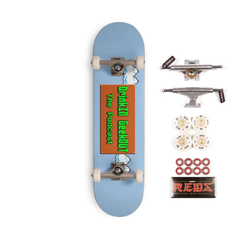 DiGo Clouds Accessories Complete - Pro Skateboard by DrinkIN GeekOUT's Artist Shop