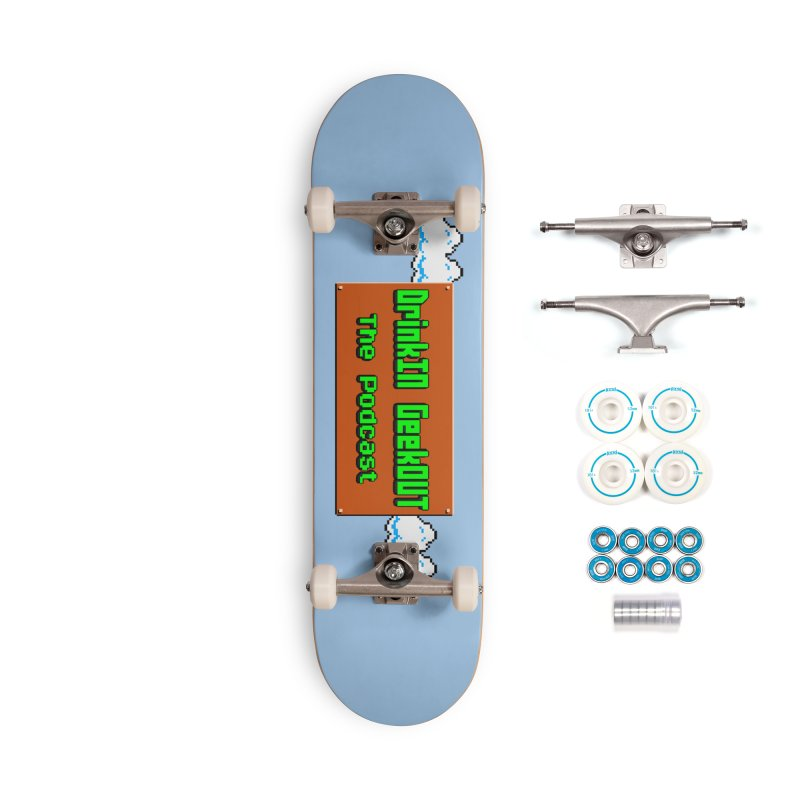 DiGo Clouds Accessories Complete - Basic Skateboard by DrinkIN GeekOUT's Artist Shop