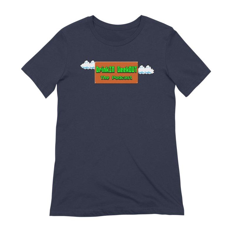 DiGo Clouds Women's Extra Soft T-Shirt by DrinkIN GeekOUT's Artist Shop