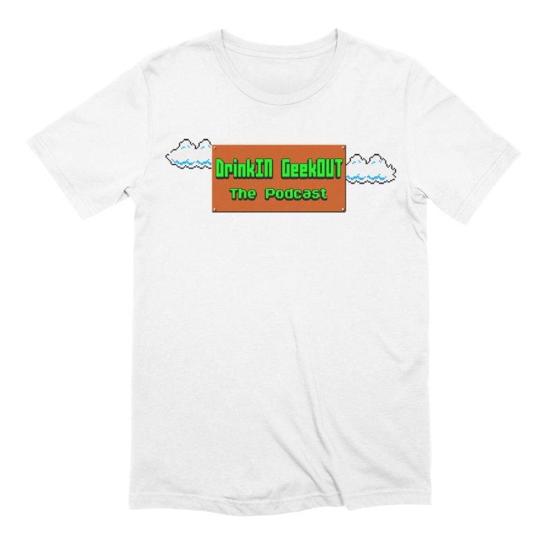 DiGo Clouds Men's Extra Soft T-Shirt by DrinkIN GeekOUT's Artist Shop