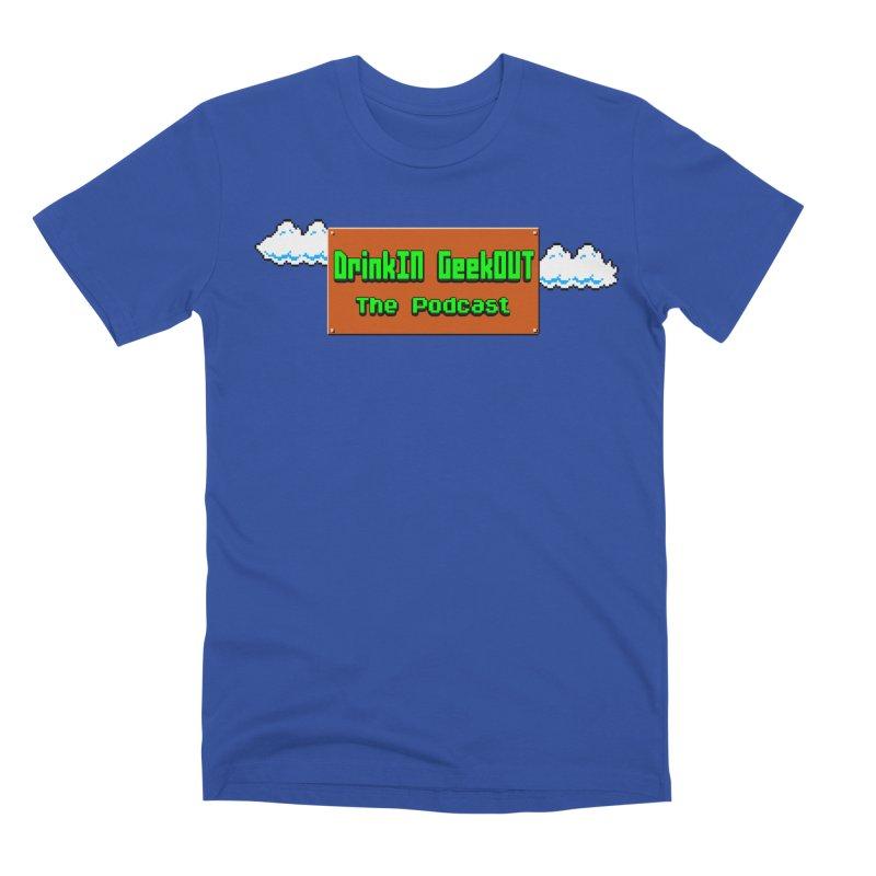 DiGo Clouds Men's Premium T-Shirt by DrinkIN GeekOUT's Artist Shop