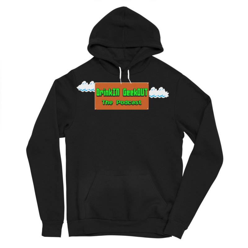 DiGo Clouds Men's Sponge Fleece Pullover Hoody by DrinkIN GeekOUT's Artist Shop