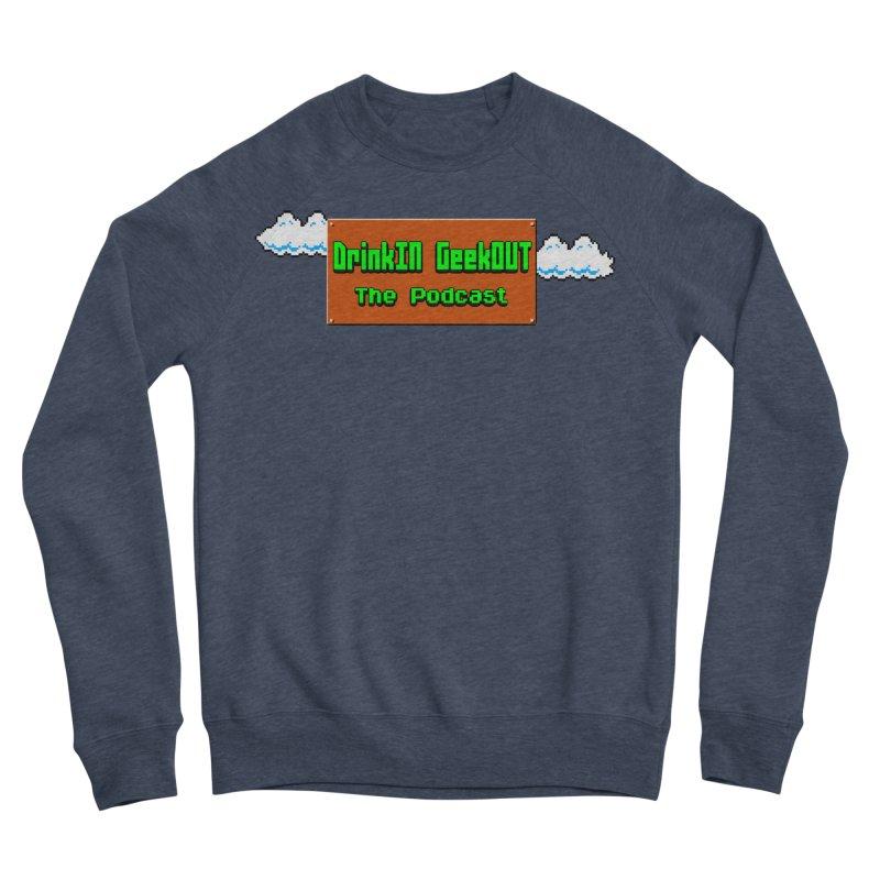 DiGo Clouds Men's Sponge Fleece Sweatshirt by DrinkIN GeekOUT's Artist Shop