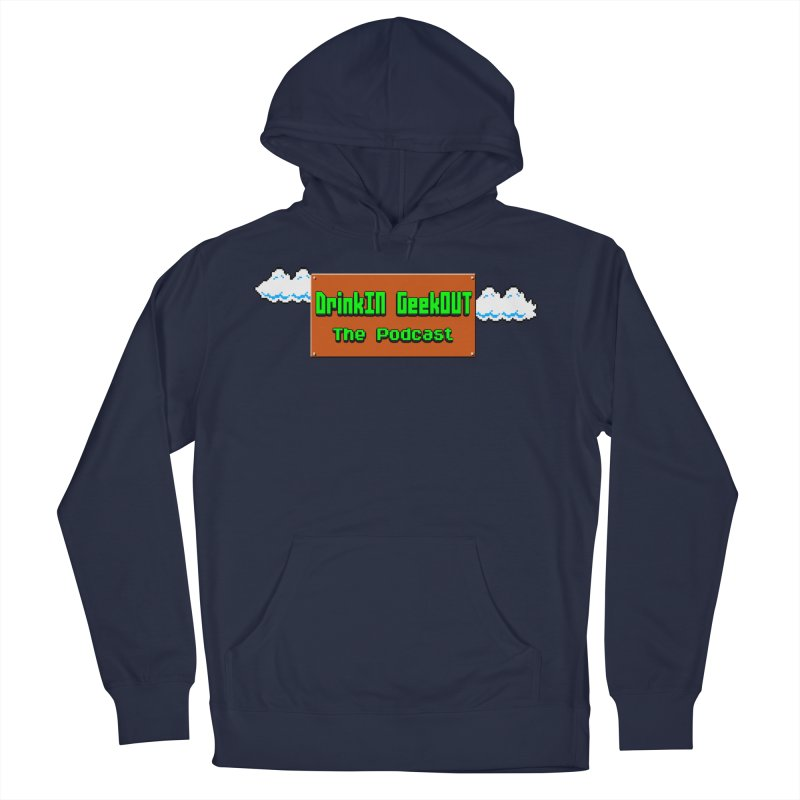 DiGo Clouds Men's French Terry Pullover Hoody by DrinkIN GeekOUT's Artist Shop