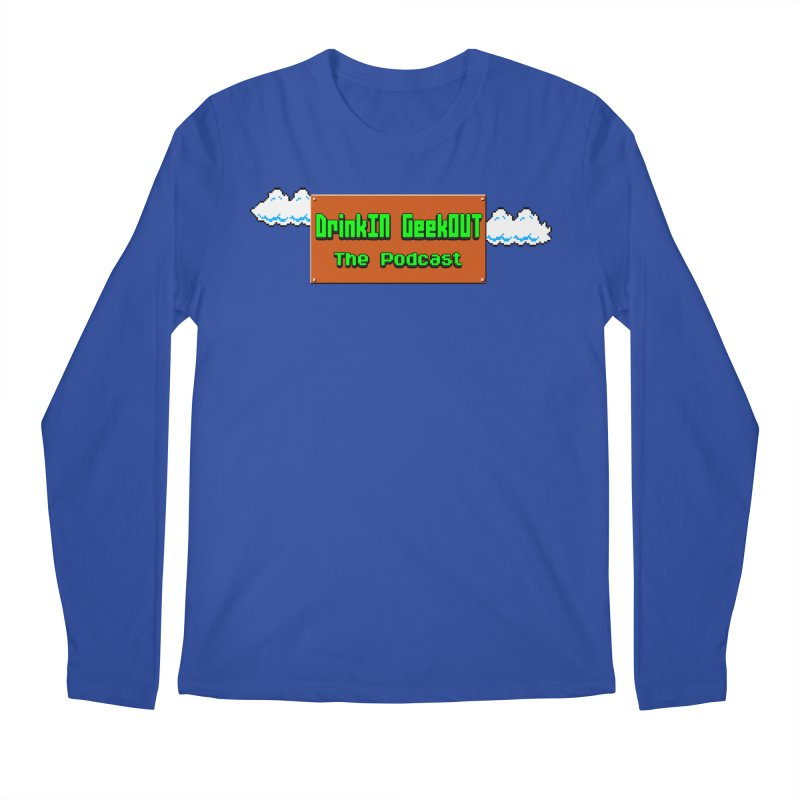 DiGo Clouds Men's Regular Longsleeve T-Shirt by DrinkIN GeekOUT's Artist Shop