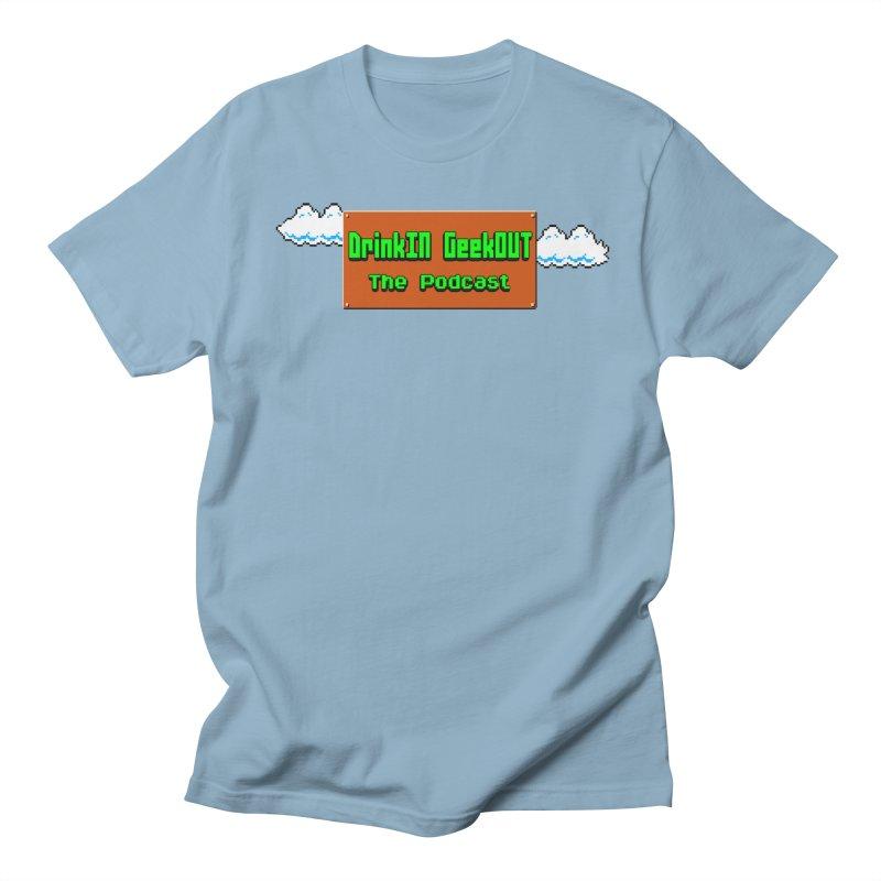 DiGo Clouds Men's Regular T-Shirt by DrinkIN GeekOUT's Artist Shop
