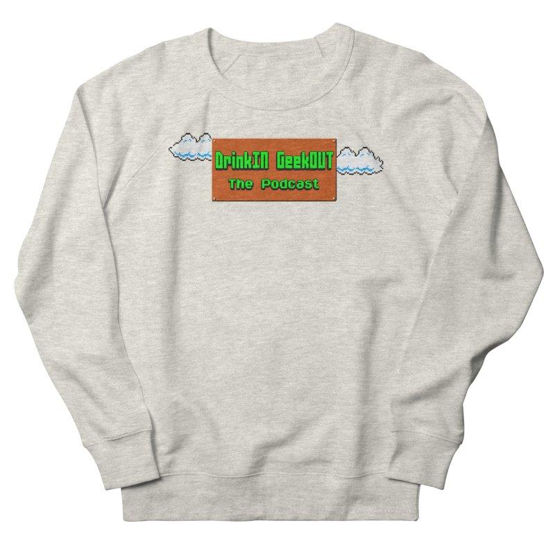 DiGo Clouds Women's French Terry Sweatshirt by DrinkIN GeekOUT's Artist Shop