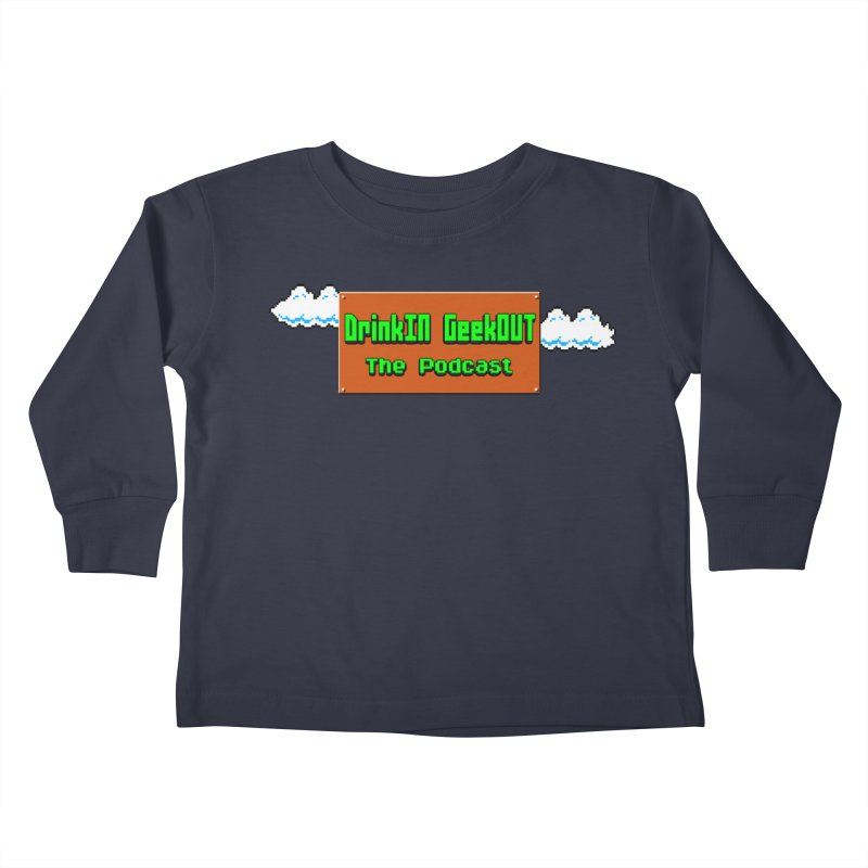 DiGo Clouds Kids Toddler Longsleeve T-Shirt by DrinkIN GeekOUT's Artist Shop