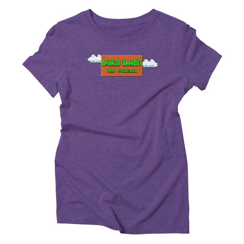DiGo Clouds Women's Triblend T-Shirt by DrinkIN GeekOUT's Artist Shop