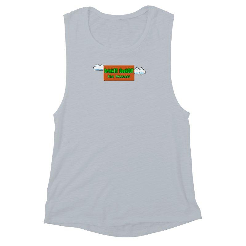 DiGo Clouds Women's Muscle Tank by DrinkIN GeekOUT's Artist Shop