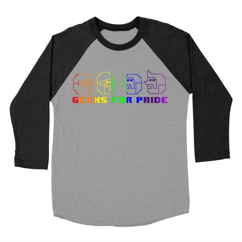Geeks For Pride 2019 Women's Baseball Triblend Longsleeve T-Shirt by DrinkIN GeekOUT's Artist Shop