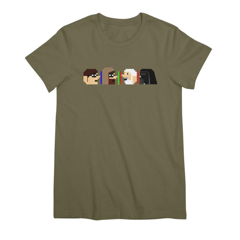 Jedi July 2019 Women's Premium T-Shirt by DrinkIN GeekOUT's Artist Shop