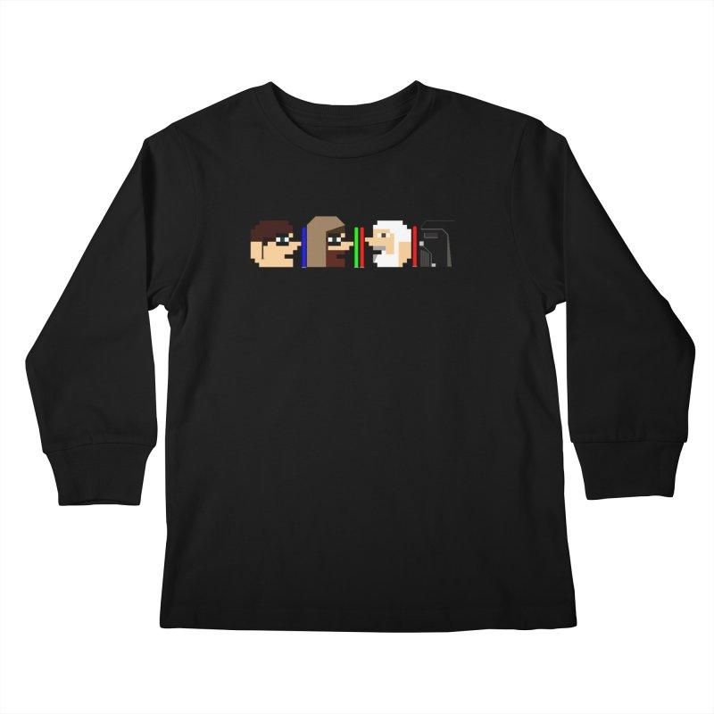 Jedi July 2019 Kids Longsleeve T-Shirt by DrinkIN GeekOUT's Artist Shop