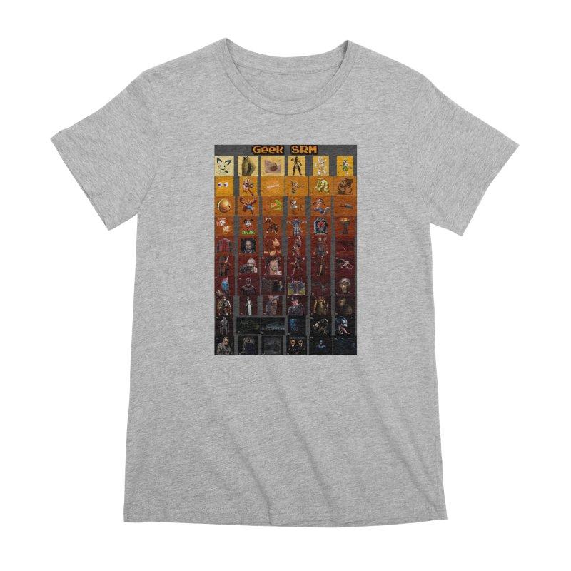 Geek SRM Women's Premium T-Shirt by DrinkIN GeekOUT's Artist Shop