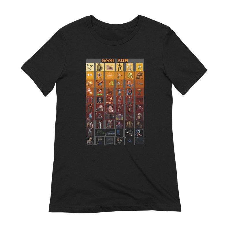 Geek SRM Women's Extra Soft T-Shirt by DrinkIN GeekOUT's Artist Shop