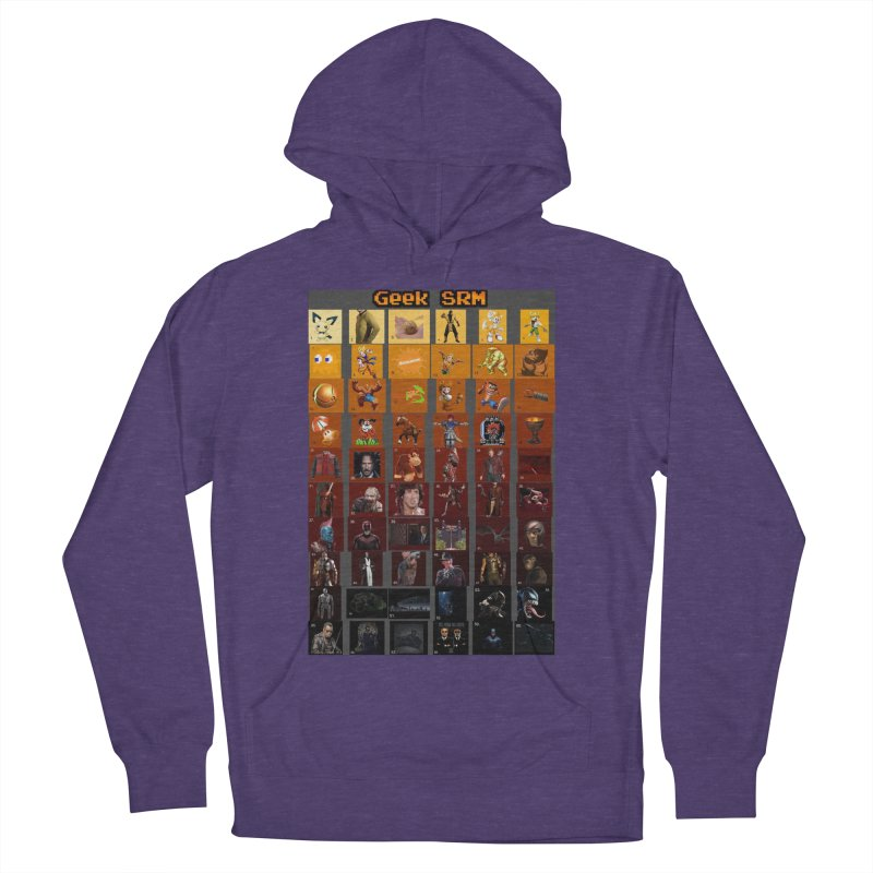 Geek SRM Men's French Terry Pullover Hoody by DrinkIN GeekOUT's Artist Shop
