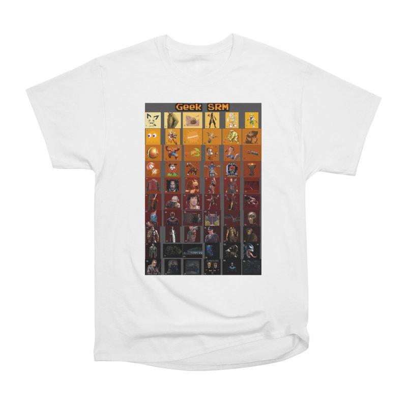 Geek SRM Men's Heavyweight T-Shirt by DrinkIN GeekOUT's Artist Shop