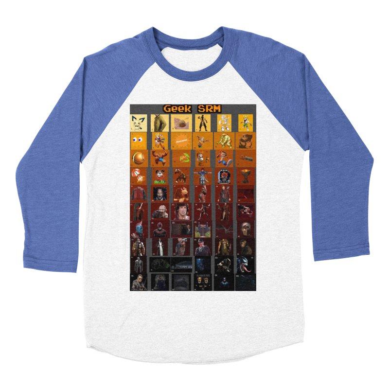 Geek SRM Women's Baseball Triblend Longsleeve T-Shirt by DrinkIN GeekOUT's Artist Shop