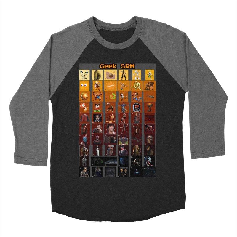 Geek SRM Men's Baseball Triblend Longsleeve T-Shirt by DrinkIN GeekOUT's Artist Shop