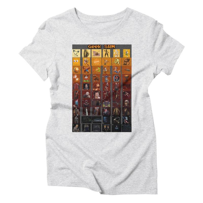 Geek SRM Women's Triblend T-Shirt by DrinkIN GeekOUT's Artist Shop
