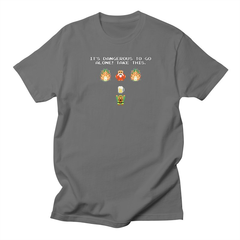 Take This... Beer Men's T-Shirt by DrinkIN GeekOUT's Artist Shop
