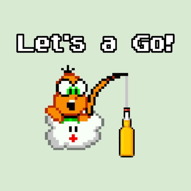 Let's a Go! by DrinkIN GeekOUT's Artist Shop