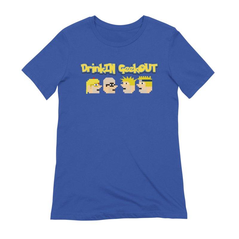 Anime DiGo Women's Extra Soft T-Shirt by DrinkIN GeekOUT's Artist Shop