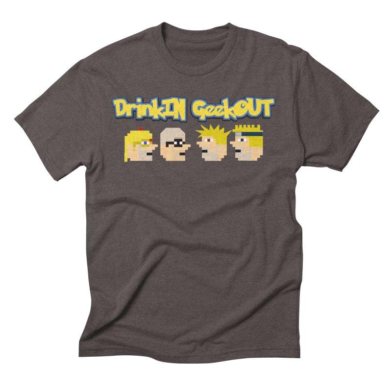 Anime DiGo Men's Triblend T-Shirt by DrinkIN GeekOUT's Artist Shop