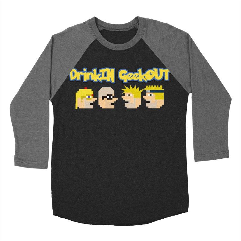 Anime DiGo Men's Baseball Triblend Longsleeve T-Shirt by DrinkIN GeekOUT's Artist Shop