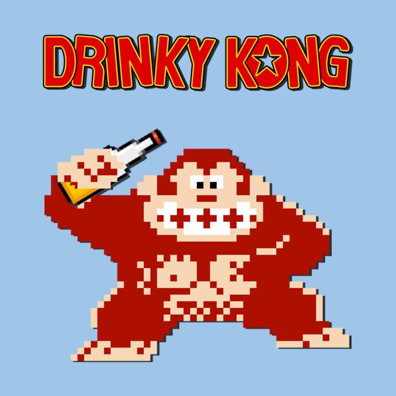 Drinky Kong Men's T-Shirt by DrinkIN GeekOUT's Artist Shop