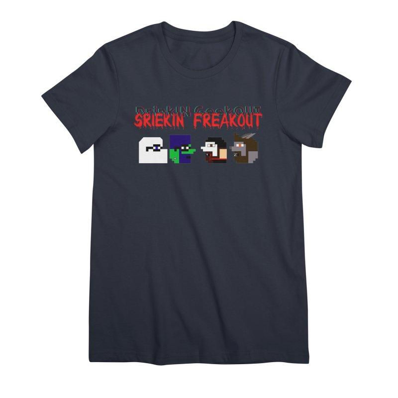 SiFo DiGo Women's Premium T-Shirt by DrinkIN GeekOUT's Artist Shop