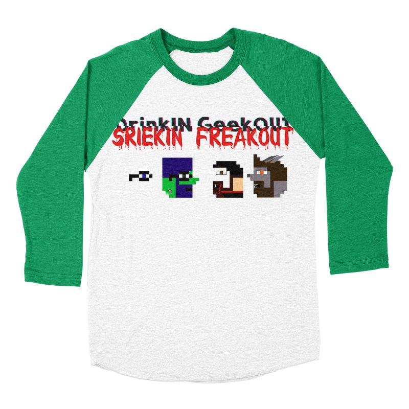 SiFo DiGo Men's Baseball Triblend Longsleeve T-Shirt by DrinkIN GeekOUT's Artist Shop