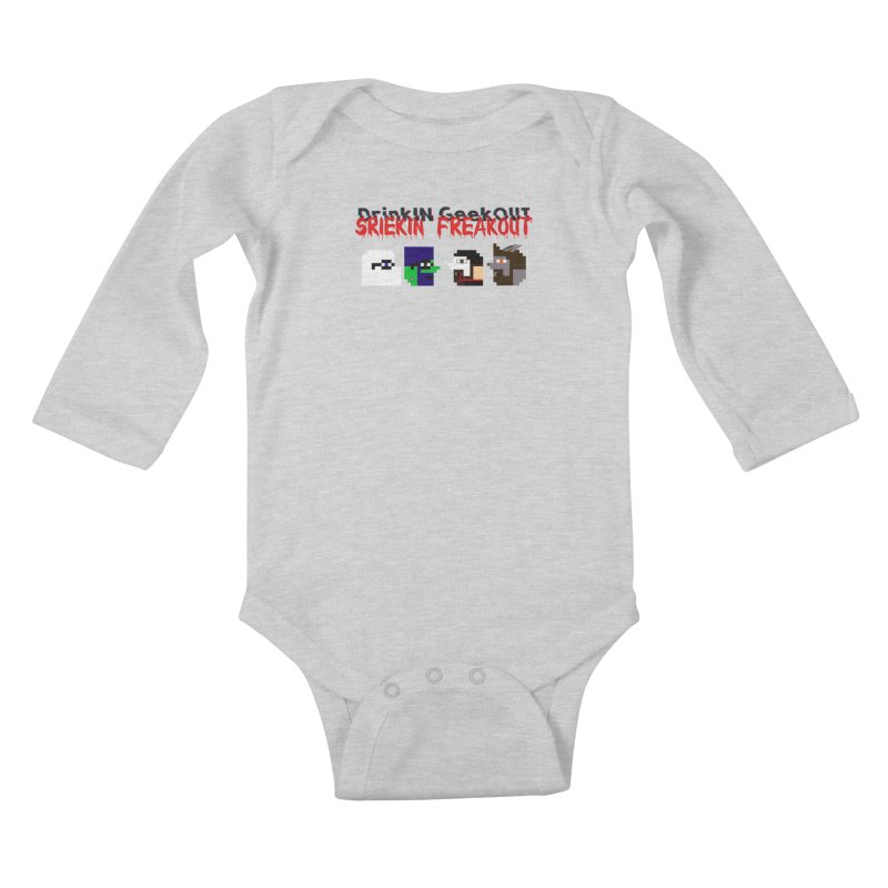 SiFo DiGo Kids Baby Longsleeve Bodysuit by DrinkIN GeekOUT's Artist Shop